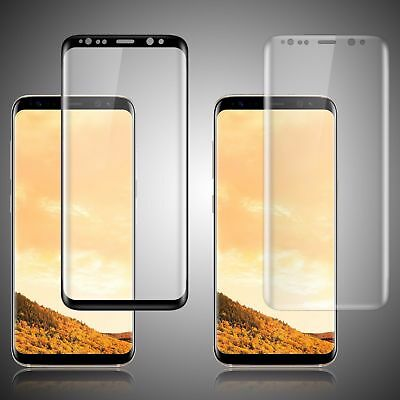 $ CDN3.08 • Buy Samsung Galaxy S8 S9 Plus Screen Protector Tempered Glass 3D Curved Glass Shield