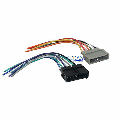 $5.95 • Buy Aftermarket Car Radio Stereo Wire Harness Plug For 1984-up Chrysler Dodge Jeep