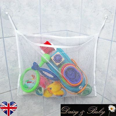 Toy Net Bathtime Tidy Bathroom Bathtub Storage Organizer Hammock Children Kid S • 2.99£