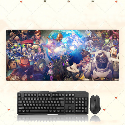 AU28.42 • Buy GAME Overwatch OW Extra Large Mouse Pad Free Shipping(32'' * 12'')