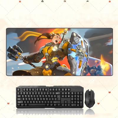 AU28.42 • Buy GAME Overwatch OW Brigitte Extra Large Mouse Pad Free Shipping(32'' * 12'')