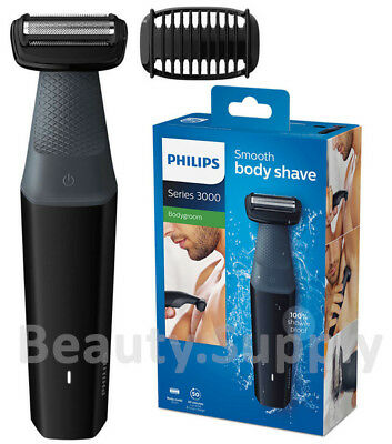 AU59.95 • Buy Philips BG3010 Men WaterProof Body Hair Shaver/Cordless Groomer Clipper Trimmer