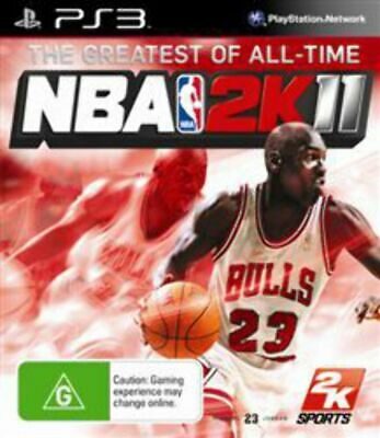 AU6.95 • Buy NBA 2K11 PS3 Game USED