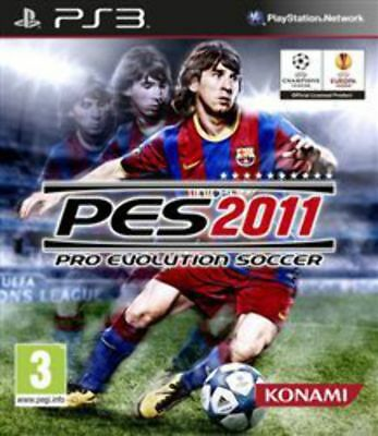 AU10.95 • Buy Pro Evolution Soccer 2011 PS3 Game USED