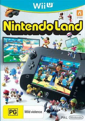 AU14.95 • Buy Nintendo Land Wii U WiiU Game USED