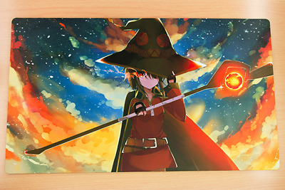 AU34.20 • Buy F1912 Konosuba Megumin Playmat Anime Girl Playmat Yugioh Playmat Card Game Mat