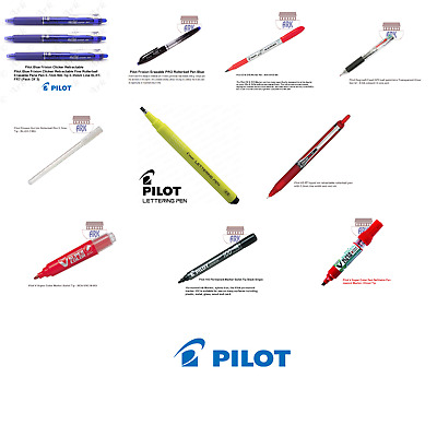 Clearance Quality Pens Pilot Roller Ball, Markers- Lettering • 2.85£
