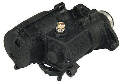 $154.95 • Buy Ultima Black Thunderfire 1.4kw Starter For 06-Later Dynas & 07-Later Big Twins