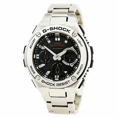 Casio Men's Watch G-Shock Ana-Digi Dial Stainless Steel Bracelet GSTS110D-1A • 181.12£