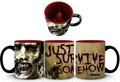 £15.90 • Buy Officially Licensed The Walking Dead Zombie Inside Mug Tea Coffee Cup