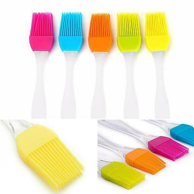 Pastry Brush Egg Wash Milk Baking Utensils Silicone Cookware Cooking Basting BBQ • 2.32£