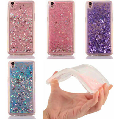 AU5.99 • Buy For Various Phone Dynamic Liquid Glitter Quicksand 3D Pattern Soft Case Cover