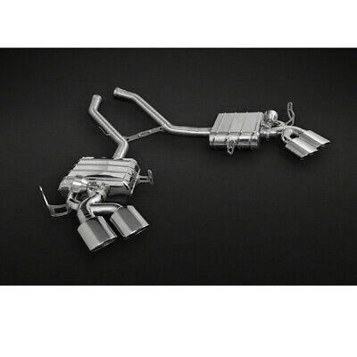 $6555 • Buy Capristo Mercedes ML63 AMG Valved Exhaust System With Remote And Stainless Tips