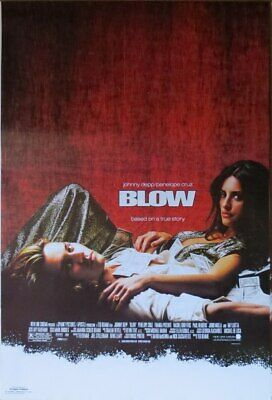 AU19.99 • Buy BLOW MOVIE-Johnny Depp- Poster-Laminated Available-90cm X 60cm-Brand New