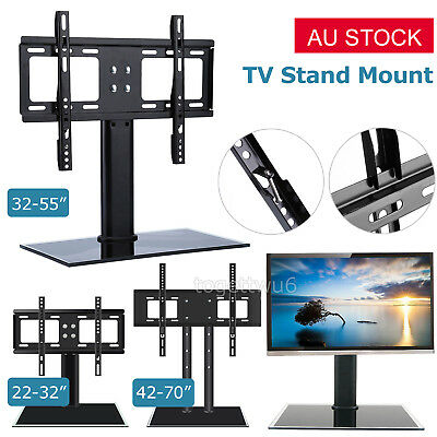 AU35.99 • Buy 22'' 32  55  70  Table Top Desktop TV Stand Bracket LCD LED Plasma VESA Mount AU
