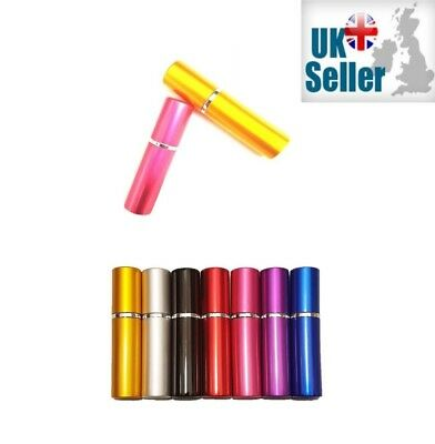 5ml Mini Refillable Pocket Perfume & Aftershave Atomiser Holiday Spray Bottle • 4.50£