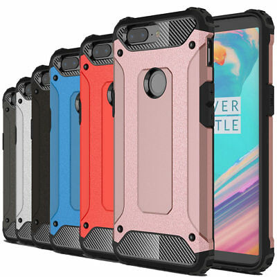AU9.47 • Buy Dooqi Shockproof Tough Hybrid Bumper Armor Protective Cover Case For OnePlus 5T