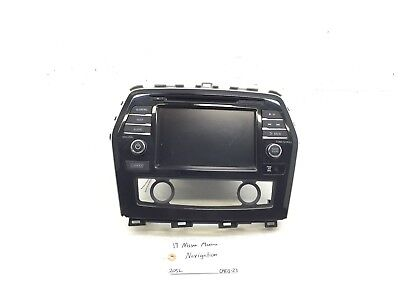 $470 • Buy 2016-2017 Nissan Maxima Navigation Receiver Display Screen Oem 25915-9dd0e