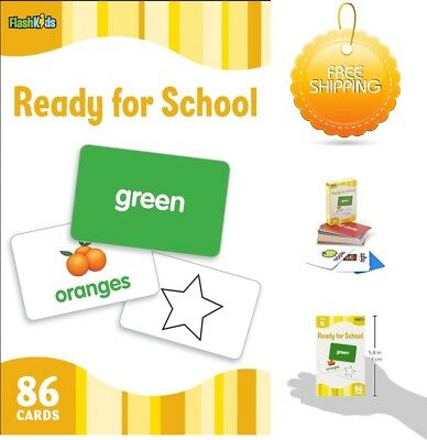 £8.95 • Buy Ready For School Flash Kids Flash Cards Child Learning Pre-School Activities