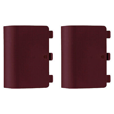 $5.67 • Buy ZedLabz Replacement Battery Cover Back For Xbox One Controller 2 Pack Red Wine