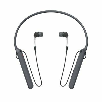 SONY WI-C400 Wireless In-Ear Headphones With Mic / Remote & Neckband Black UK • 28.90£