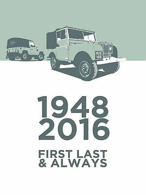 Land Rover First And Last Retro Metal Plaque/Sign, Pub, Bar, Man Cave, • 4.99£