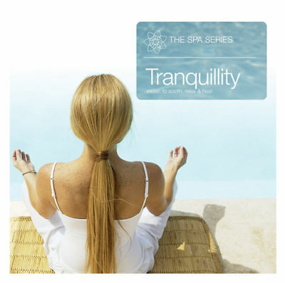 Spa Series Tranquillity CD OFFICIAL Massage Therapy Relaxation Music Background  • 1.95£