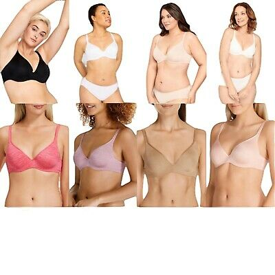 AU44.95 • Buy Berlei Barely There Contour Tshirt Bra White Black Nude Pink Blue With Underwire