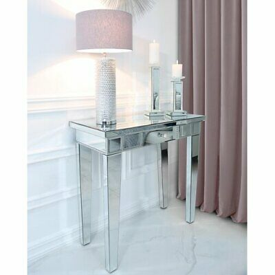 Mirrored Console Table Hallway Furniture Venetian Dressing Table Storage Drawer • 219.90£