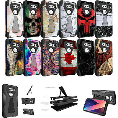 AU14.54 • Buy For LG V30, V30 Plus, Kickstand, Dual Layer, Slim, Hybrid, Heavy Duty Case