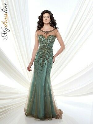 84e67266651 Mon Cheri Montage 215911 Dress ~LOWEST PRICE GUARANTEED~ NEW Authentic Gown  • 498.00
