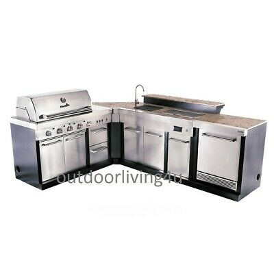 $5849.10 • Buy Ultimate Outdoor Kitchen W/ GRILL, SINK, REFRIGERATOR, GRANITE, BAR TOP, + More!