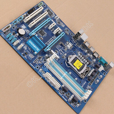 AU77.70 • Buy LGA 1155 DDR3 For Intel Gigabyte GA-Z77P-D3 Original Motherboard USB3.0 Z77