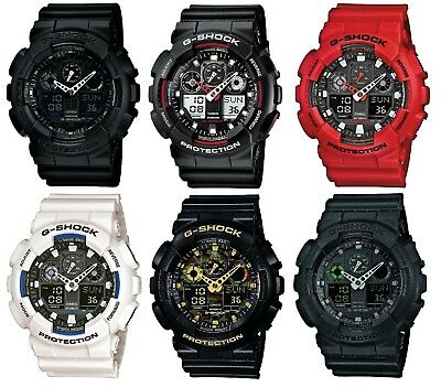 View Details Casio G-Shock Dual Display Chronograph Resin Strap Gents Watch • 67.50£