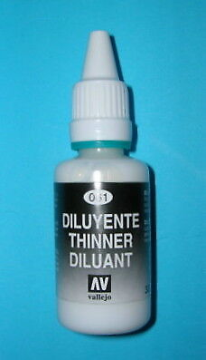 Vallejo Model Air - Thinners 32ml Acrylic Paint # 061 • 2.66£