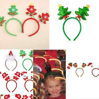 £3.30 • Buy Deely Boppers Christmas Head Band Hair Presents Childrens Kids Stocking Fillers