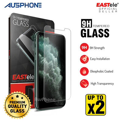 AU8.95 • Buy IPhone 12 Mini 11 Pro XS MAX XR X Tempered Glass Screen Protector For Apple