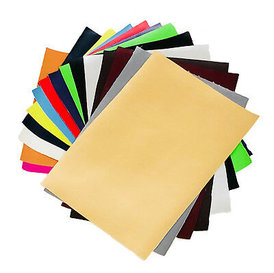Faux Leather Leatherette Vinyl Fabric Material A4 Or A5 Sheets For Crafts & Bows • 2.75£