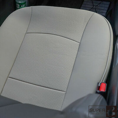 $ CDN26.25 • Buy Gray PU Leather Charcoal Car Vehicle Seat Cover Protector Cushion Mat