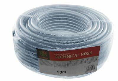 £1.17 • Buy Clear Pvc Braided Hose - Food Grade - Oil / Water / Gases - Reinforced Pipe Tube