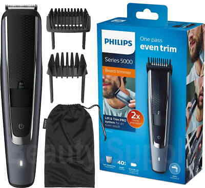 AU94.95 • Buy Philips BT5502 Cord/Cordless Stubble Beard Trimmer/Body Hair Groomer