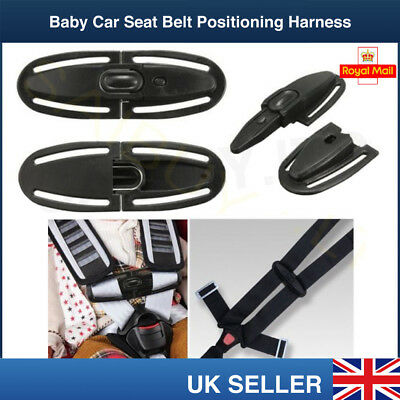 Baby Car Safety Seat Strap Belt Lock Buckle Latch Harness Chest Child Clip Knots • 3.99£