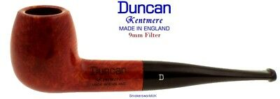 AU65.58 • Buy Duncan Briars Kentmere 9mm Filter Smooth Straight Apple Pipe D NEW England