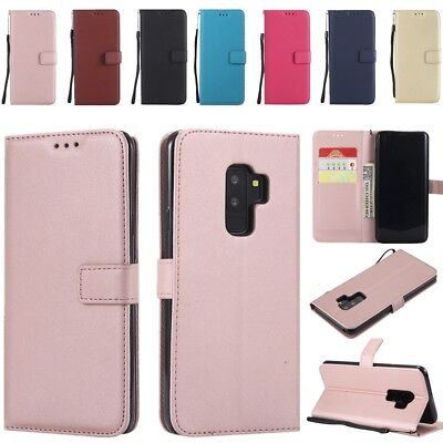 $ CDN6.69 • Buy Luxury Leather Wallet Card Stand Case Cover For Samsung Galaxy S6 S7 S9+ Note 8