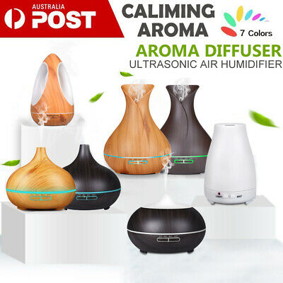 AU23.99 • Buy Essential Oil Aroma Diffuser LED Ultrasonic Air Humidifier USB Mist Aromatherapy