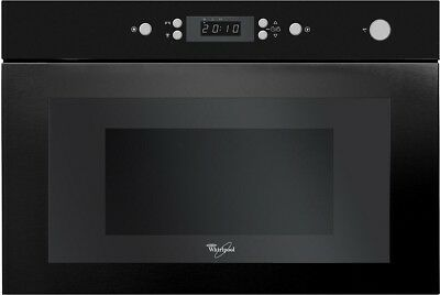 WHIRLPOOL AMW 496/NB Built-In Microwave 22L, 750W, JETDEFROST And JET START • 259£
