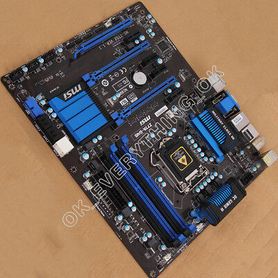AU160.60 • Buy MSI MS-7752 Z77A-G45 LGA 1155 Motherboard Intel Z77 DDR3 ATX
