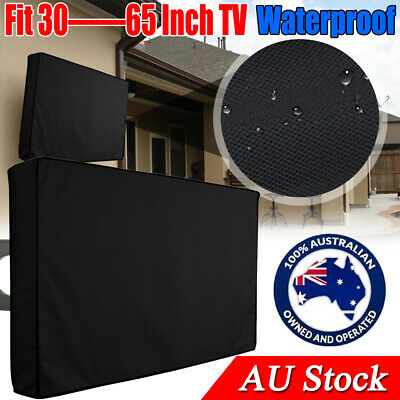 AU21.23 • Buy 30-65 Inch Dustproof Waterproof TV Cover Outdoor Patio Flat Television Protector