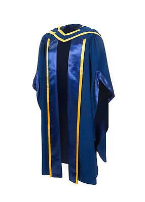 UK Doctoral Gown And Matching Hood (PhD) • 185£