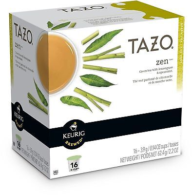 Tazo Zen Green Tea 16 To 96 Count Keurig K Cup Pods Choose Any Quantity • 60.56£
